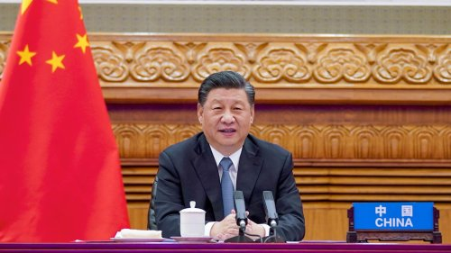 "China's Xi swipes at U.S.: ""Countries shouldn't impose rules on others"""