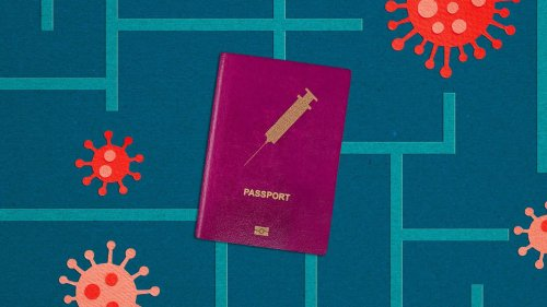 """Americans will likely have to navigate a maze of vaccine """"passports"""""""