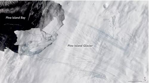 Study: Key Antarctic ice shelf is speeding up its collapse