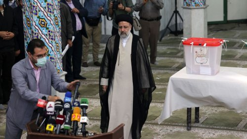 Conservative cleric Raisi elected Iran's president