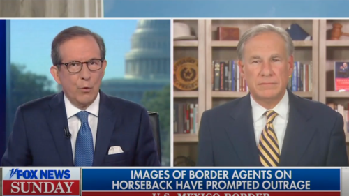 Abbott says he'll hire Border Patrol agents who whipped at migrants