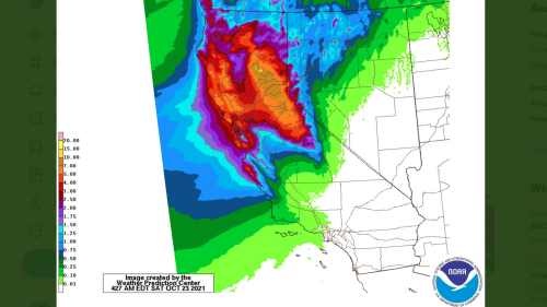 """""""Atmospheric river"""" to whiplash Northern California from drought to flood"""
