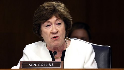 Collins: Tentative bipartisan infrastructure deal doesn't include gas tax hike