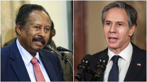 Blinken speaks with Sudan prime minister after his release