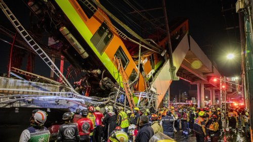 Mexico City metro collapse caused by construction errors, report finds
