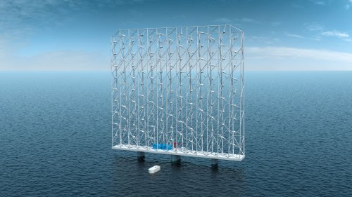 New design for offshore wind farm has lots of fans