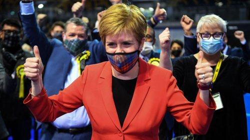 Scottish first minister vows independence referendum after election win