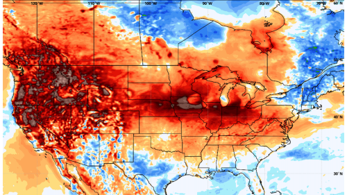 Next heat dome to build across Lower 48, aggravating drought, fires
