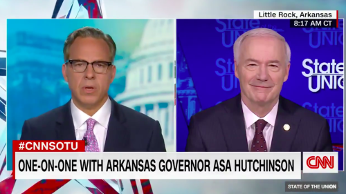 "Hutchinson says GOP should go ""back to our principles"" after reports of Trump tirade"