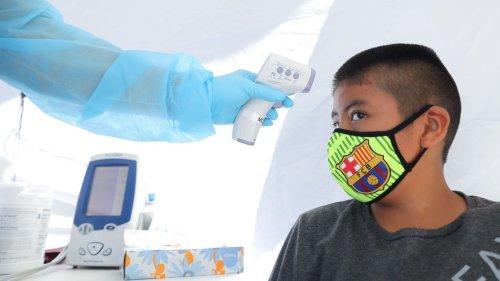 97,000 children test positive for coronavirus in two weeks
