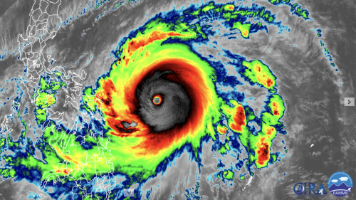 Super typhoon Surigae explodes to Cat. 5 intensity