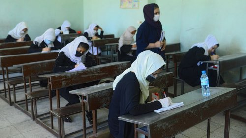 Taliban exclude Afghan teen girls from attending school