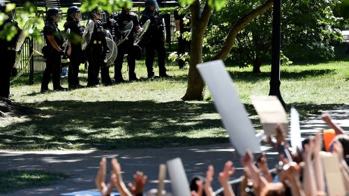 Trump, Barr can't be held liable in Lafayette Park protesters' lawsuits, judge rules
