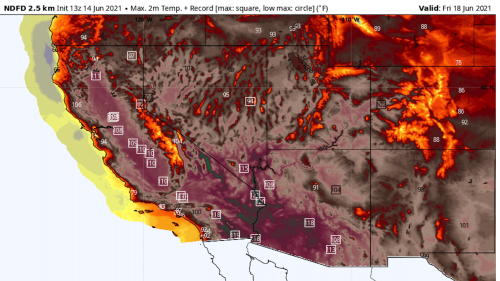 Dangerous heat wave set to shatter records across dry West