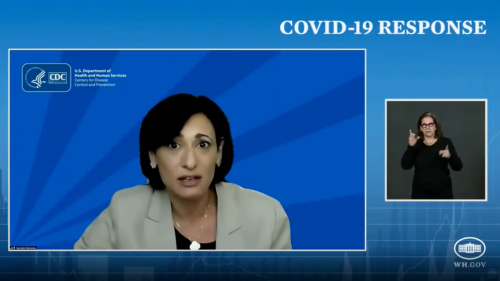 "CDC director warns of ""impending doom"" as COVID cases increase"