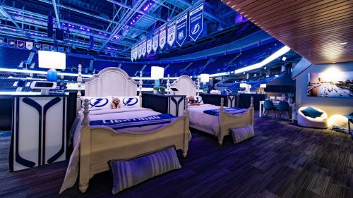 Tampa Bay Lightning's Airbnb lets you sleep next to the Stanley Cup