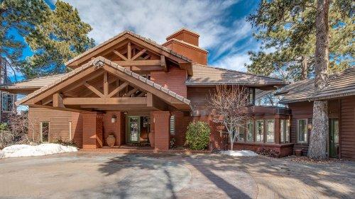Frank Lloyd Wright-inspired Denver home asks $4.75M