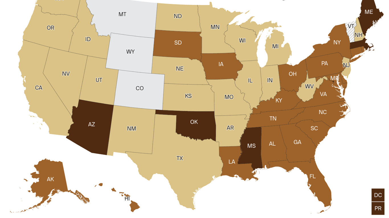 COVID cases are up 55% across the U.S.