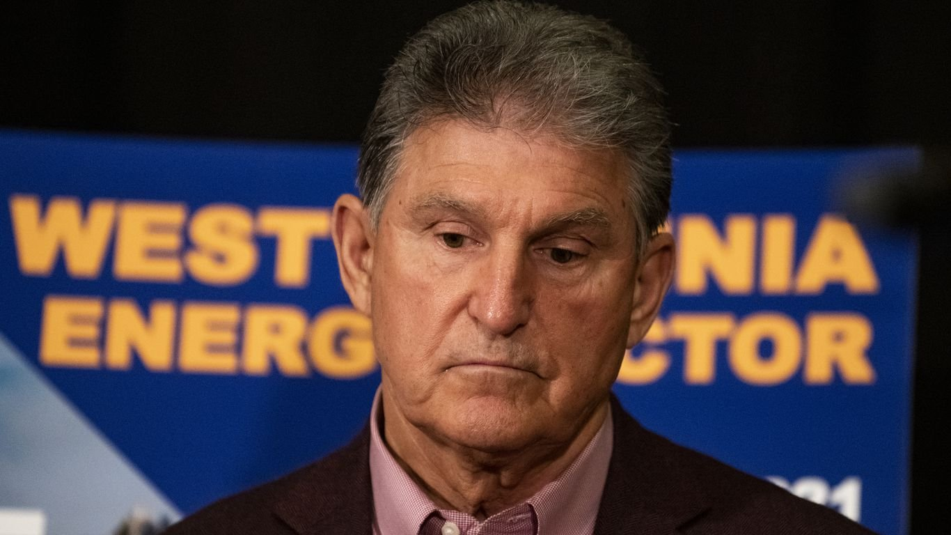 Manchin says he won't vote for Democrats' sweeping election reform bill