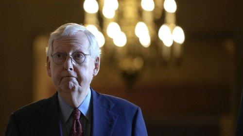 Senate Republicans sink short-term government funding, debt limit bill
