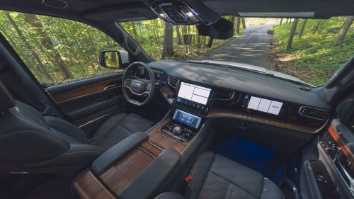 What we're driving: The $110,000 Jeep Grand Wagoneer
