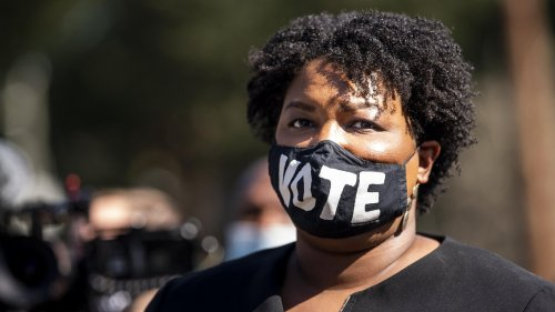 Stacey Abrams says she supports Manchin's voting rights compromise