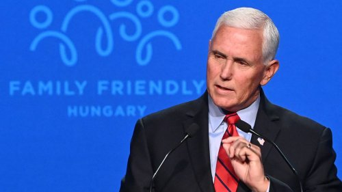 Pence says he hopes Supreme Court will overturn abortion rights