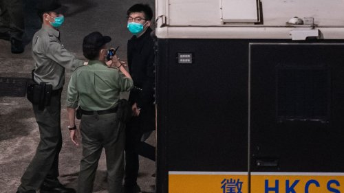 Hong Kong activist Joshua Wong gets extra jail time for Tiananmen vigil