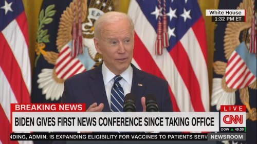 Biden sets new goal of 200 million vaccine doses in first 100 days