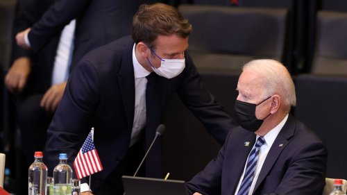 Biden speaks with Macron for first time since diplomatic crisis