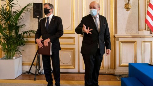 French officials continue PR tear over U.S.-Australia submarine deal