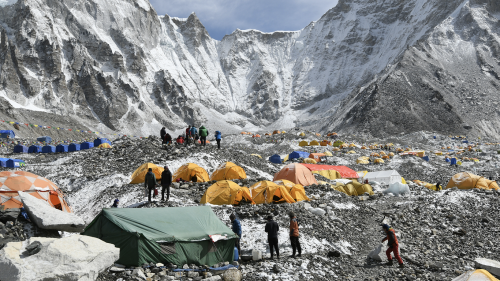 "COVID-19 reaches Mount Everest and experts warn of possible ""superspreader"" event"