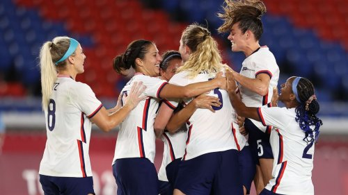 U.S. women's soccer team beats Netherlands, moves on to Olympic semifinals