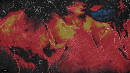 As early season heat roasts U.S., records tumble in Middle East