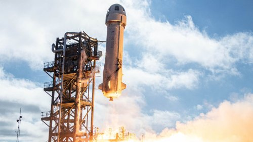 Blue Origin's auction for a trip to space is ending