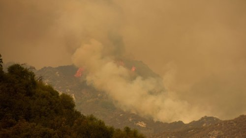 Huge wildfire reaches edge of Sequoia National Park