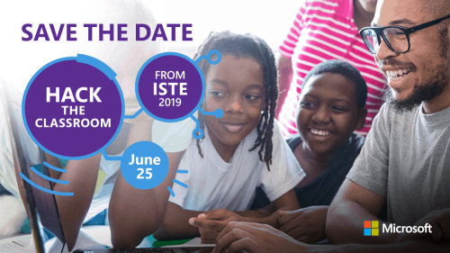 The Hack is back and streaming live June 25th from ISTE in Philadelphia