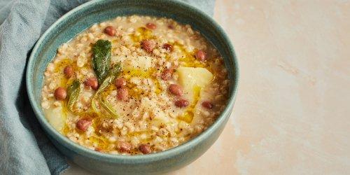 Farro and Borlotti Bean Soup Recipe - Great Italian Chefs