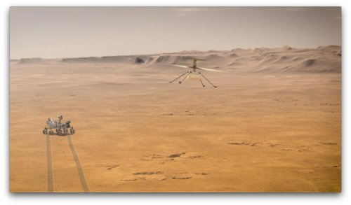 Seeing Ingenuity Mars helicopter fly in 3D