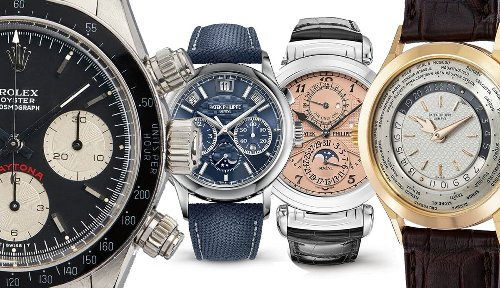 11 Most Expensive Watches Sold At Auction In The Past 10 Years