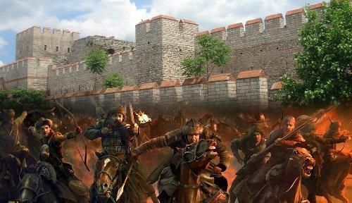 The Decisive Battle of Châlons (Catalaunian Plains)