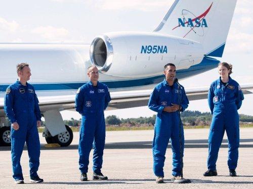 NASA sending four astronauts to ISS on Sunday