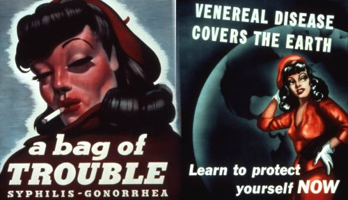 Vixen or Virtuous: Depicting Women in WW2 Public Health Campaigns