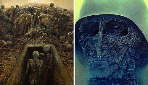 Zdzislaw Beksinski: The Dystopian Surrealist Painter You Should Know