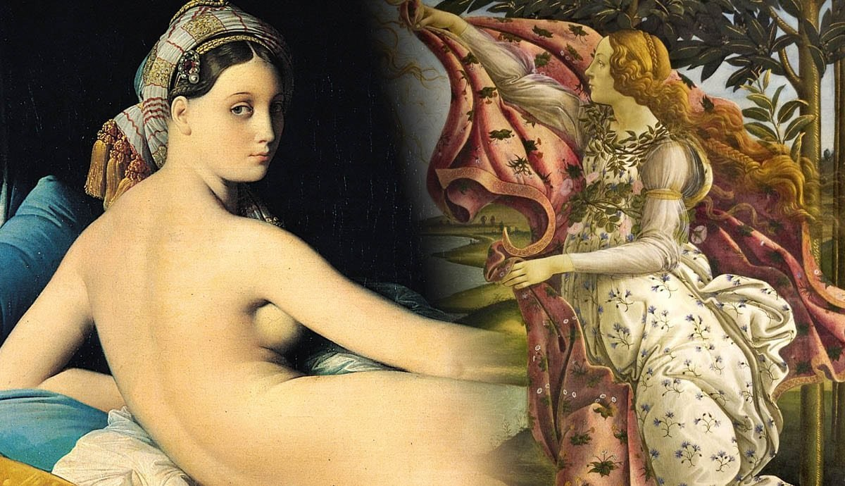 Female Nudity In Art: 6 Paintings And Their Symbolic Meanings - cover