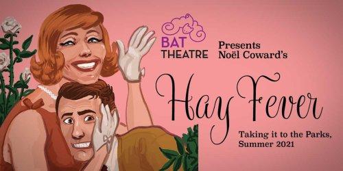BAT Theatre performing 'Hay Fever' at Burien Town Square Park Fri., Aug. 20