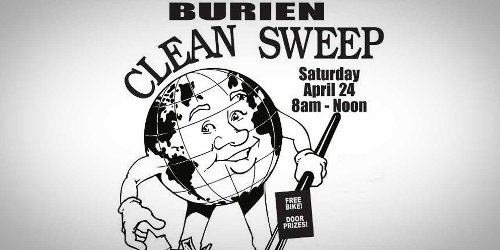REMINDER: Volunteers needed for Discover Burien's 'Clean Sweep' this Sat., April 24 - The B-Town (Burien) Blog