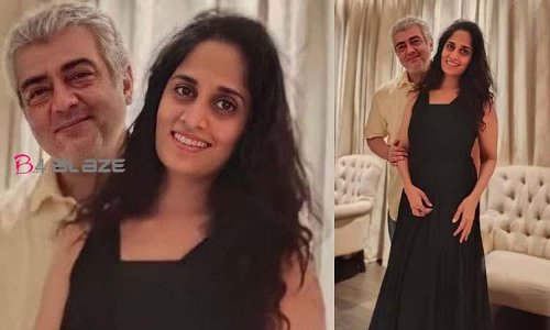 Ajith and Shalini in new happiness!