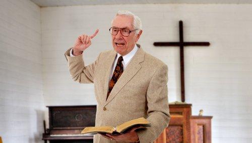 King James Only Pastor Leads Congregation In Chant Of 'Knoweth Joe Biden!'