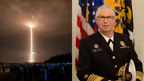 Arms Race Heats Up: Just As China Reveals Space Nukes, America Responds With Trans Admiral